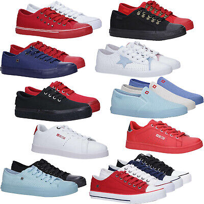 Damen Turnschuhe Big Star Slipper/Schnürsenkel Freizeit Sportschuhe Komfortabel Big Star Schuhe