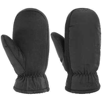 LIPODO Fäustlinge mit Teddyfutter Fausthandschuhe Handschuhe Damenhandschuhe