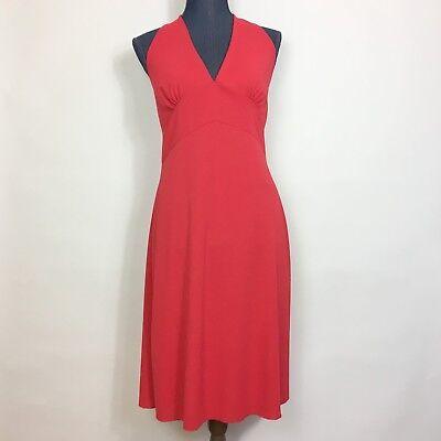 Marilyn Monroe Costumes (Red Halter Dress Sz L Marilyn Monroe Style Costume Dress Opposite Brand)