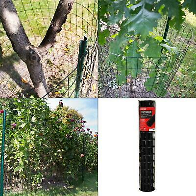 3 Ft. X 50 Ft. Black Pvc Coated Welded Wire Galvanized Fencing Fence Mesh Roll