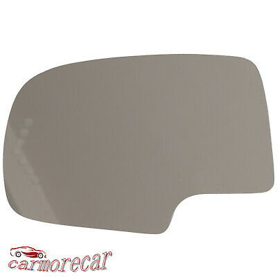Chevy Avalanche Side View Mirror - LH Left Side Mirror Glass With Adhesive For Cadillac Escalade Chevy Avalanche