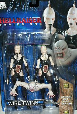 Hellraiser Bloody Wire Twins Maniacs goth Movie Action figures Cenobite Xmas   ()