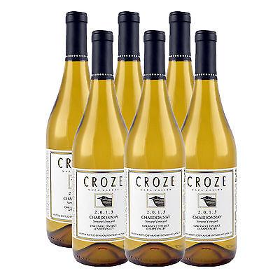 Croze 2013 Napa Valley Chardonnay - 90 points (6 Bottles)