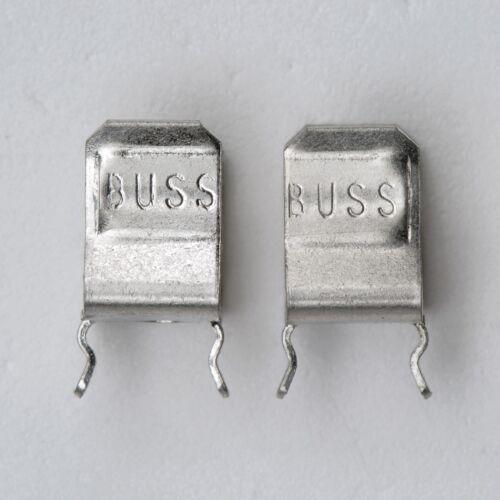 """20x COOPER BUSSMANN 20A PCB FUSE CLIP 1A4534-06-R for ¼"""" Diameter Fuse"""