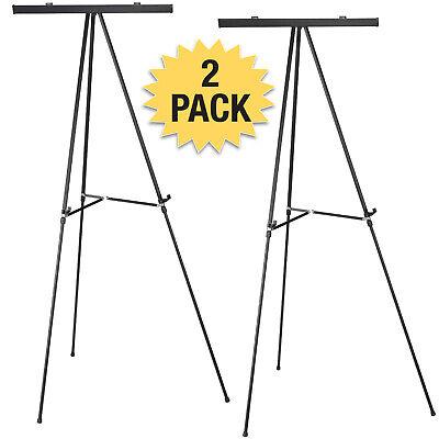 Quartet 50E Tripod Easel Silver 38-Inch -66-Inch H 3//4-Inch Tubular Aluminum Legs