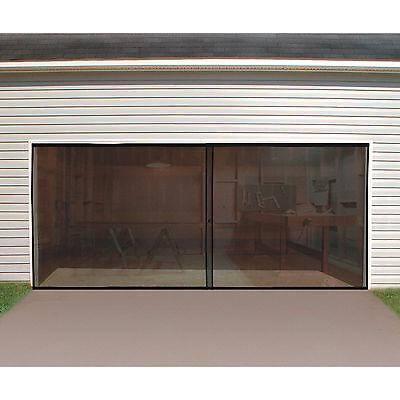 Double Garage Door Screen - 16ft. X 7ft.