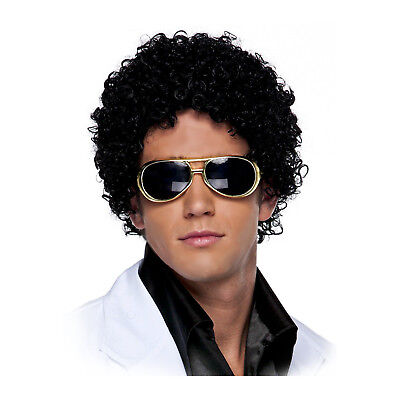 Jerry Jheri Curl Afro michael jackson Tight Curls Costume Wig - Jheri Curl Wig