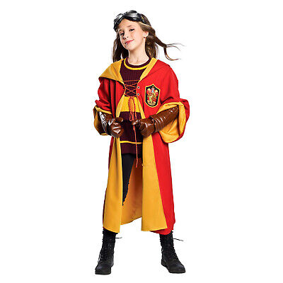 Harry Potter Quidditch Goggles (Child Harry Potter Gryffindor Quidditch Halloween Costume Robe Sweater)