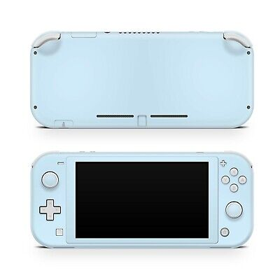 Baby blue Nintendo switch lite skin, Solid color Vinyl 3m styicker full cover