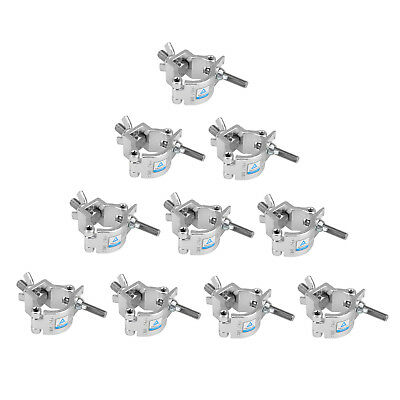 Stage Light O Clamps 165 LBs DJ lighting Hook Mount US 10-Pack Alloy Stand Truss