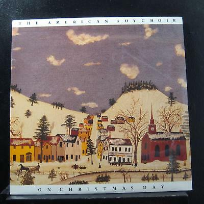 American Boy Choir, James Litton - On Christmas Day LP New Sealed HR002 Vinyl ()