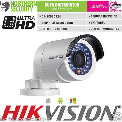 Разное Hikvision DS-2CD2032F-I 4mm 3MP 2MP