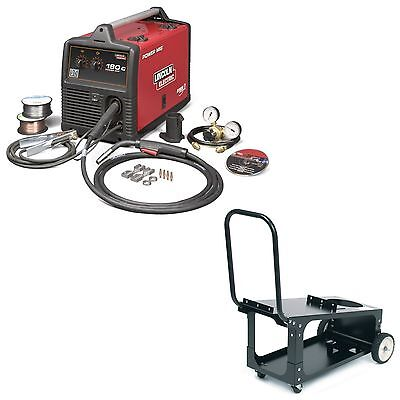 Lincoln Power Mig 180c Welder Pkg. With Economy Cart K2473-2 K2275-1