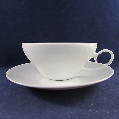 Rosenthal China ROMANCE WHITE Cup & Saucer Set