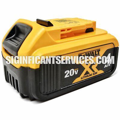 Dewalt DCB204 20V MAX Premium XR Lithium Ion Battery Pack NEW