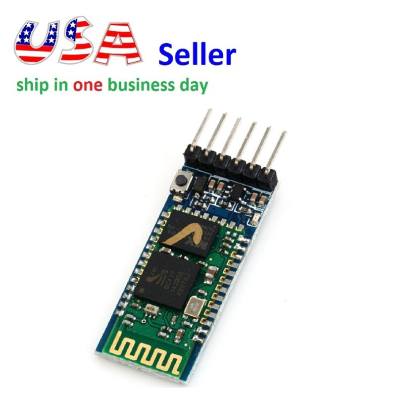 HC-05 Wireless RF Transceiver Bluetooth Module Master and Slave mode for Arduino