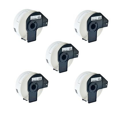 5 Roll Dk-1201 Dk1201 Shipping Labels For Brother Ql-570 1050 570vm 720nw 710w