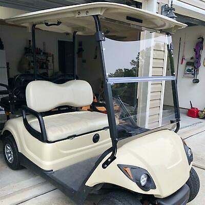 2007-UP Folding Acrylic Tinted Windshield for Yamaha Drive G29 Golf Cart New