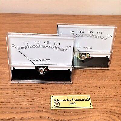 Yokogawa 2945-921-00  0-75vdc  5x 4 Panel Voltmeter