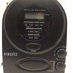 Homedics Sound Spa  Alarm Clock AM/FM Radio - Model SS-400B