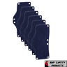 OCCUNOMIX TERRY CLOTH SNAP ON NAVY HARD HAT SWEAT BANDS CONTRUCTION (6 PACK)