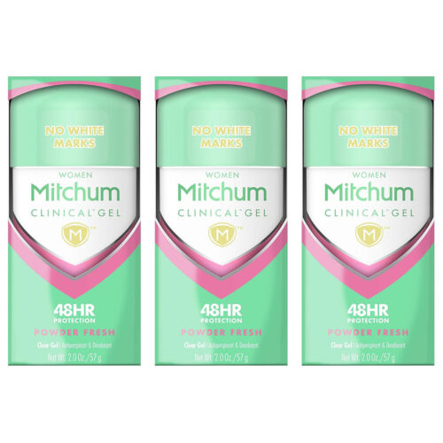 Mitchum Clinical Gel Women Powder Fresh Clear Gel Anti-Persp