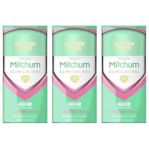 Mitchum Clinical Gel Women Powder Fresh Clear Gel Anti-Persp
