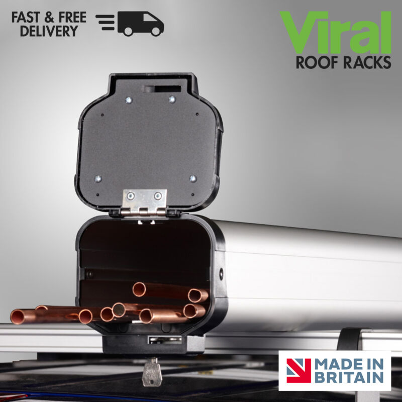 Van Guard ULTI Roof Racks Allow Cross Bars To Be Spaced Further Apart On Vehicles With Fixpoints