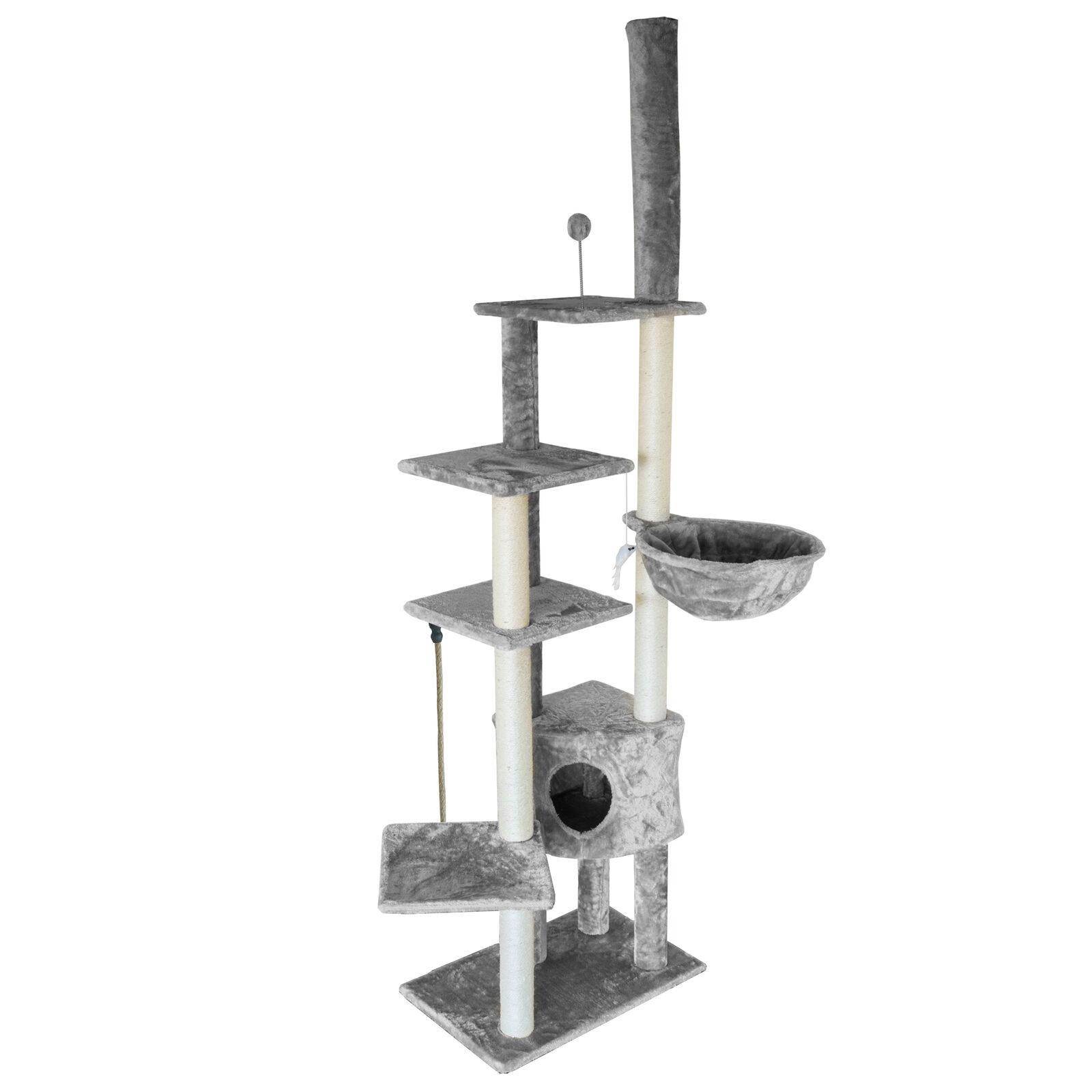 Tiger Tough™ Skyscraper Cat Playground Cat Tree