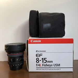 Canon Fisheye - EF 8-15mm f/4L Fisheye USM