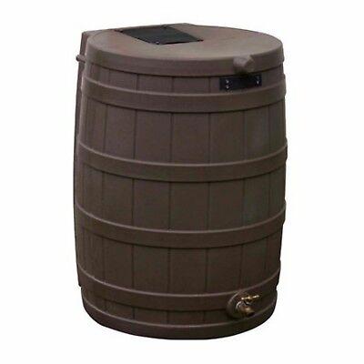 Rain Wizard 50-Gal Barrel FDA Approved Safe Water Storage EZ Clean