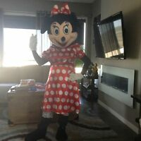 MINNIE MOUSE MASCOT $40/24 hr rental