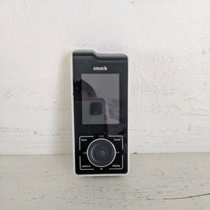 Sirius Satellite SL100 Radio Only (no back cover, UNTESTED)