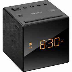 Sony ICFC1 Alarm Clock Radio FM/AM Programmable Black