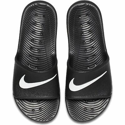 Nike Men's Summer Kawa Shower Flip Flops Sliders Sandals Black