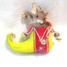 Charming Tails A Little Holiday Jingle Ornament (Mouse ...