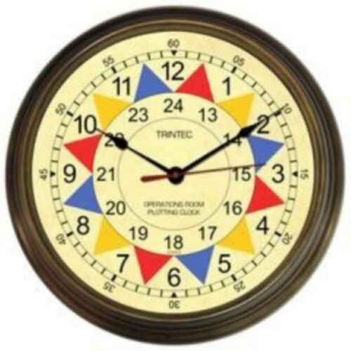 Operations Room Sector Clock by Trintec, RAF, Battle of Britain, WWII  MIS-0115