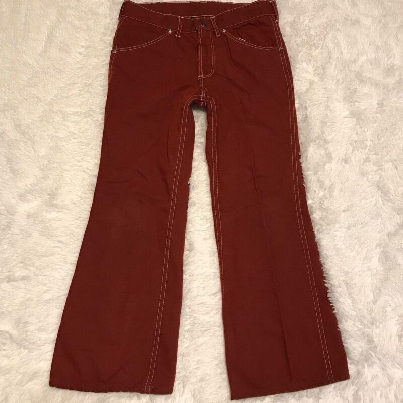 Vintage Toughskins Sears Roebuck Jean 30x25 Red