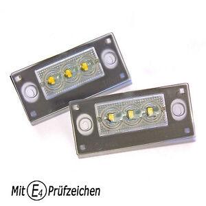LED-Kennzeichenbeleuchtung-TUV-Frei-fuer-Facelift-AUDI-A3-S3-8L-und-A4-S4-RS4-B5