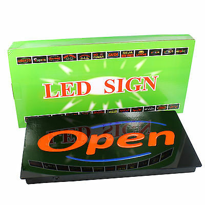 Bright Led Neon Light Animated Motion With Onoff Open Business Sign-upscale