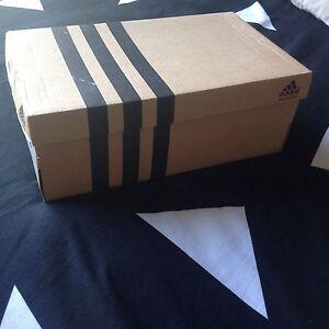 Adidas black and white soccer/football US size 2 Mens boots never worn Aldinga Morphett Vale Area Preview