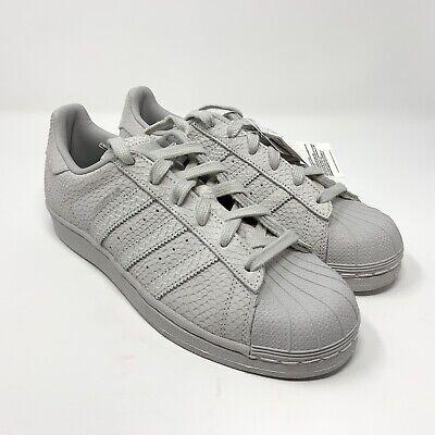 quality design b6074 3ce63 Adidas Womens Original Superstar Premium Cloud WhiteSilver Met Size 7.5  B41507