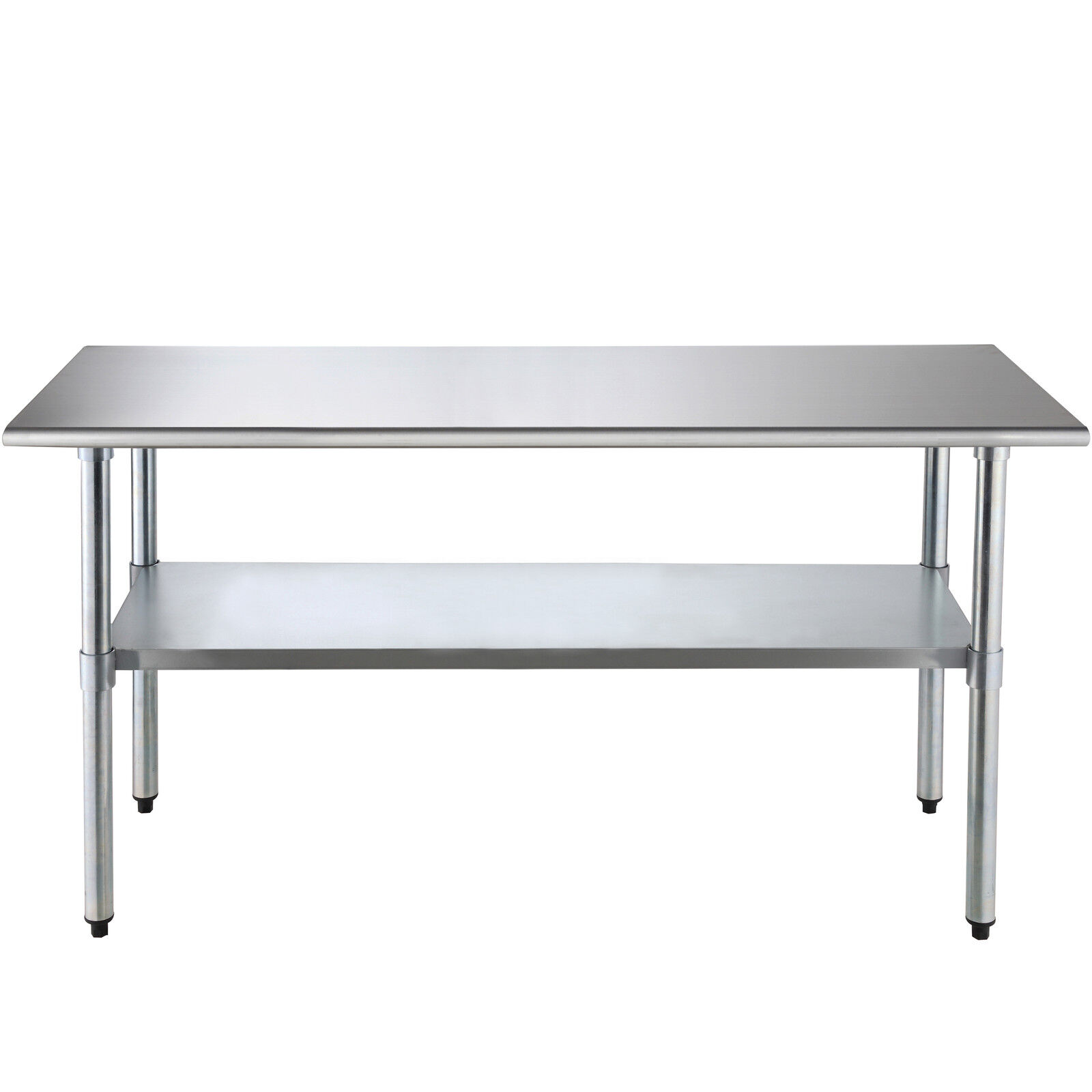 "Industrial Kitchen Prep Table: 30"" X 72"" Stainless Steel Commercial Kitchen Restaurant"