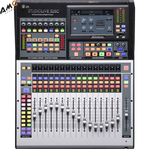 studiolive 32sc series iii 32 channel subcompact
