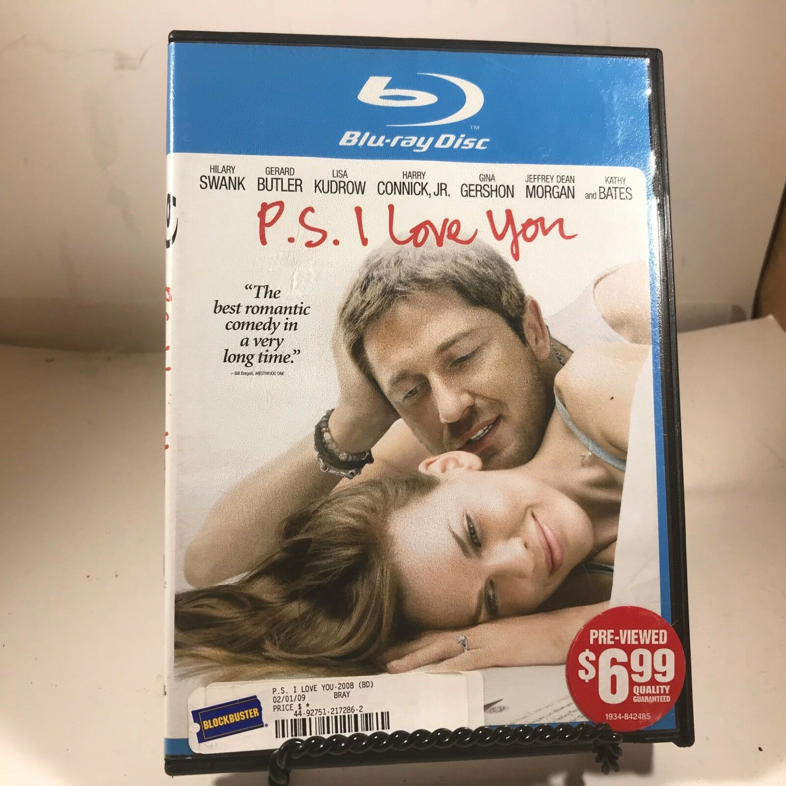 DVD - P.S. I Love You - Hillary Swank, Lisa Kudrow, Harry Connick Jr. - $2.33