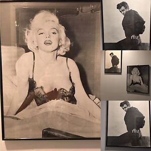 2 Vintage framed movie posters Marilyn Monroe and James Dean Greenfield Park Fairfield Area Preview