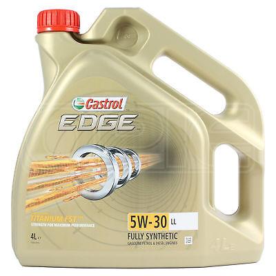 Castrol Edge Titanium FST 5W-30 ll sintética de aceite del motor 4...