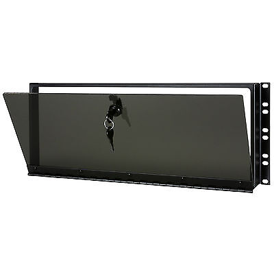 Middle Atlantic Secl 4 Plexiglas Security Cover 4U