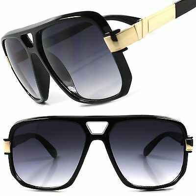 Hip Hop Rapper Rich Famous Millionaire Swag Mens Womens Black Square Sun (Millionaire Glasses)
