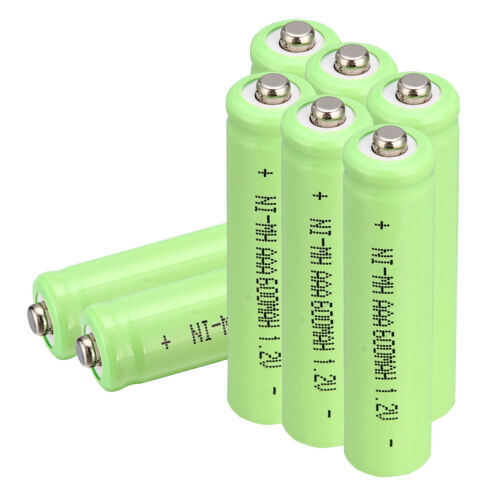 Quality 1.2V Ni-MH 600mAh AAA Rechargeable Battery for Solar Lights